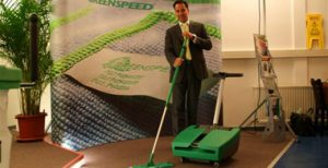 Microvezel vloersysteem van Greenspeed