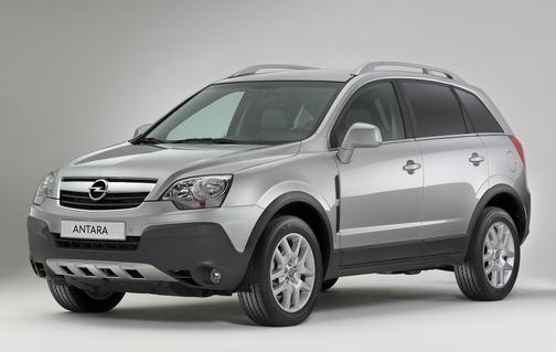 Opel Antara op grijs kenteken
