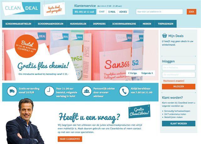 CleanDeal: Online schoonmaakartikelen kopen?!