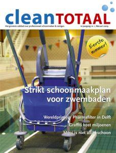 Eerste nummer Clean Totaal rolt van de pers