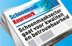 Speciale Schoonmaak Keurmerk Krant van Clean Totaal