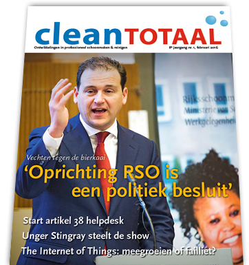 Clean Totaal nr. 1 2016 is uit!
