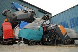 Duurzaam recyclen van afgeschreven reinigingsmachines