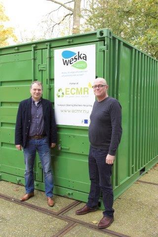 Convenant Weska en recyclebedrijf ECMR