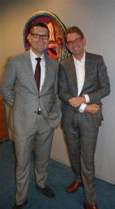 Ruud Danklof (Hago) en Ben ter Horst (Hago Next)