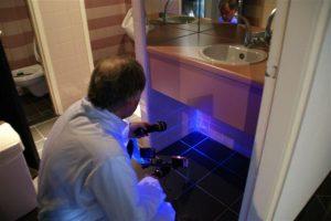 LED-lamp effectief bij controle schoonmaak