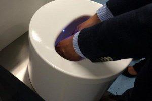 Hydrowashr: handen wassen met 10ml water