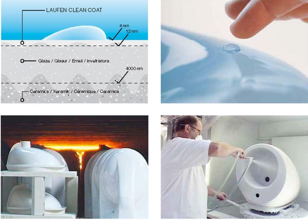 Schoonmaakadvies voor sanitair met gladde (nano)laag
