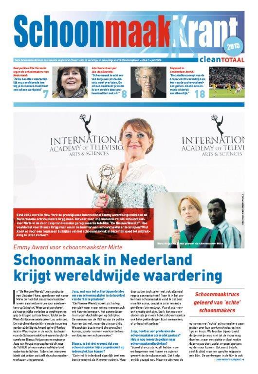 De Schoonmaak Krant 2015 is uit!