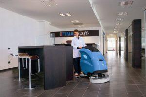FIMAP introduceert de Maxima; de stilste schrob- zuigmachines in de markt