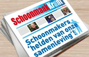 Schoonmaak Krant 2014 met keur aan prominenten!