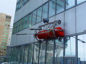 Skybrush gevelrobot van FrontPlan