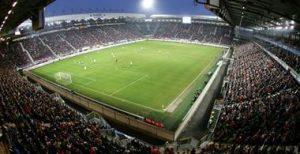 Prochem 650 reinigt tribunes Abe Lenstra stadion