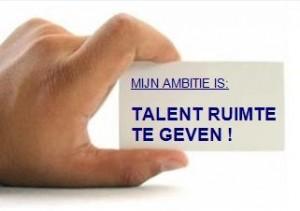 HRM in Schoonmaakland: Geef talent de ruimte!