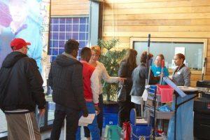Na Laddertjesdag nu Zwabbertjesdag bij Stichting Nelis