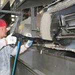 stoomreiniging in professioneel productieproces Tecnovap