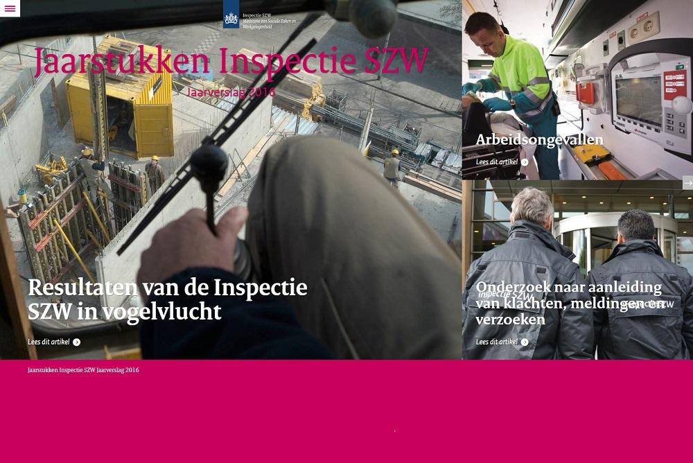 jaarverslag inspectie SZW misstanden schoonmaak