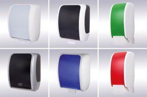 Swiss dispensers: Design voor elke sanitaire ruimte Crohill de Vries
