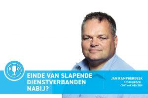 Clean Totaal Podcast Jan Kampherbeek slapende dienstverbanden