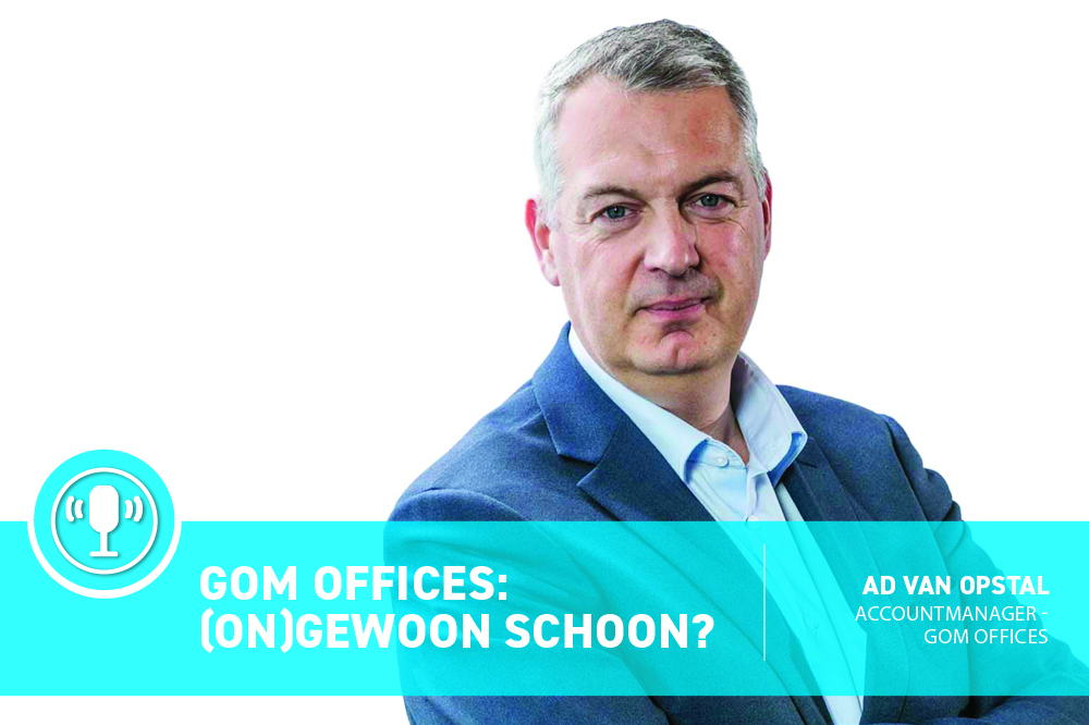 Podcast: Gom Offices (on)gewoon schoon? Ad van Opstal