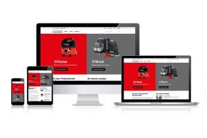 """Nieuwe website Numatic: """"nog meer gemak"""""""