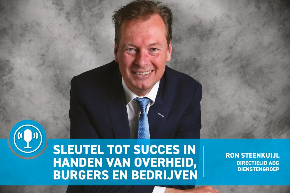 Sleutel tot succes in handen van overheid, burgers en bedrijfsleven Clean Totaal Podcast Ron Steenkuijl