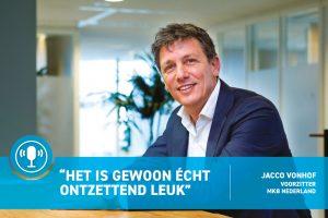 Jacco Vonhof: van eenpitter naar voorzitter MKB-Nederland