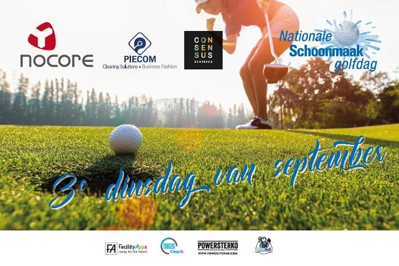 Nationale Schoonmaak Golfdag op 17 september 2019