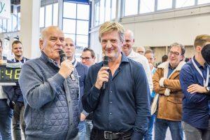Wim Kieft Evert ten Napel Schoonmaak Vakdagen NK SnelGlazenwassen