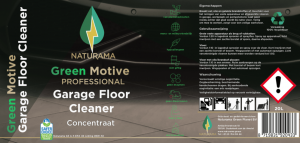 Label Naturama Garage Floor Cleaner