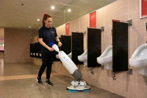 i-mop Lite maakt sanitair schoonmaak Effektief leuker