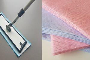 gegarandeerde hygiëne met disposable doeken en moppen