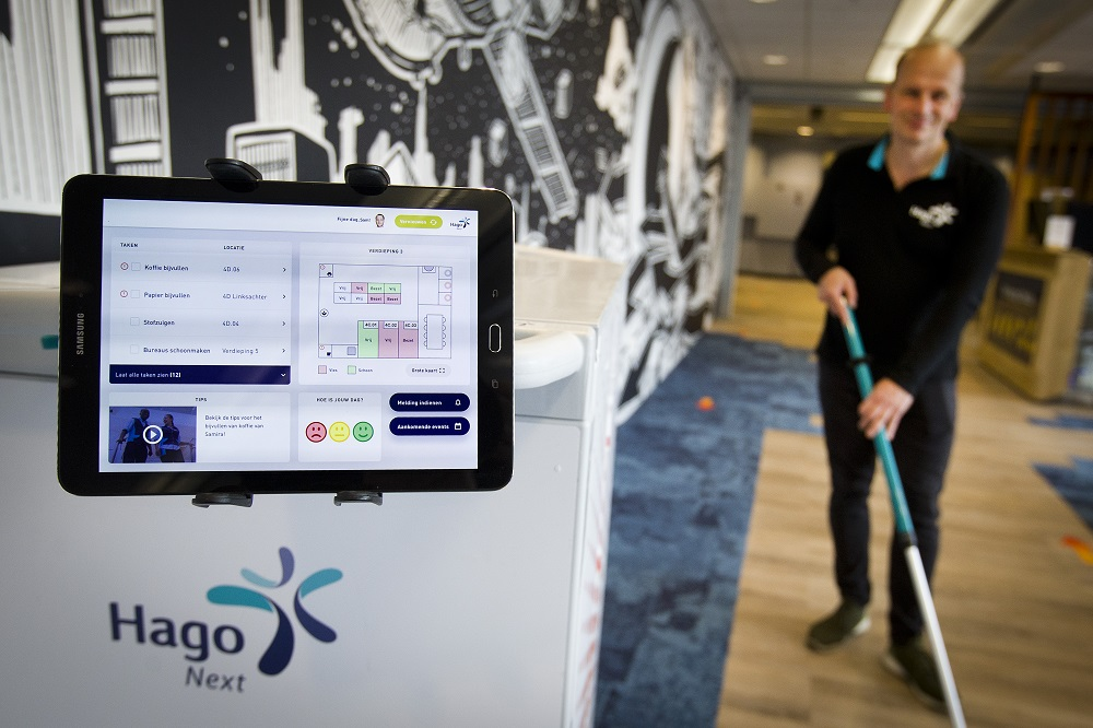Hago Next maakt schoonmaak slimmer met sensoren en data