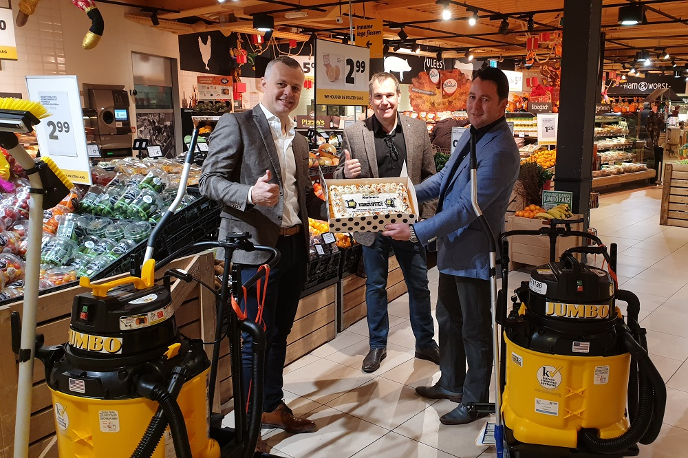 Kaivac Autovac Stretch is de beste keuze voor in de supermarkt Jumbo Kuipers start met Kaivac's innovatieve reinigingssysteem