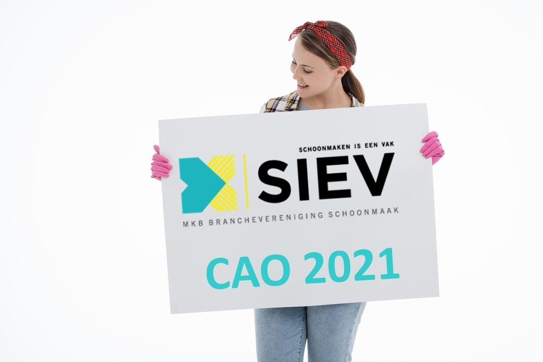 SieV geen gesprekspartner Schoonmakend Nederland bij cao-onderhandelingen SieV start cao-loket SieV organiseert cao-brainstormsessie