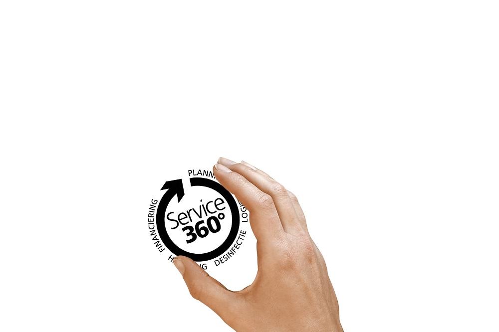 Service 360⁰: Wassen zonder zorgen