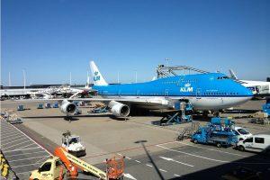 Verboden desinfectiemiddelen gebruikt bij schoonmaak vliegtuigen