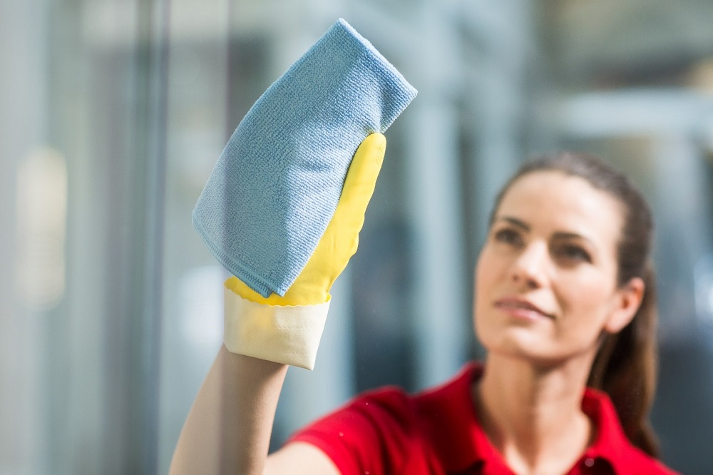 Vileda r-Range: mop en doek van gerecyclede materialen