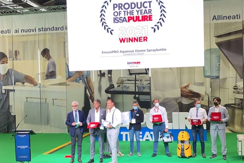 Nederlands Enozo Pro wint Product of the Year Award op Pulire