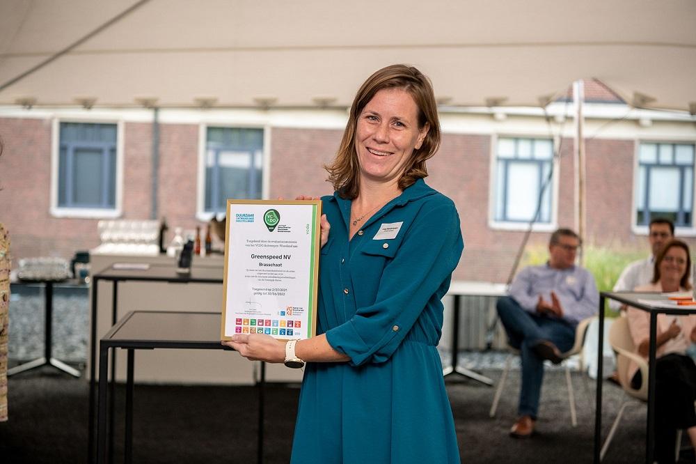 Greenspeed behaalt Voka Charter Duurzaam Ondernemen
