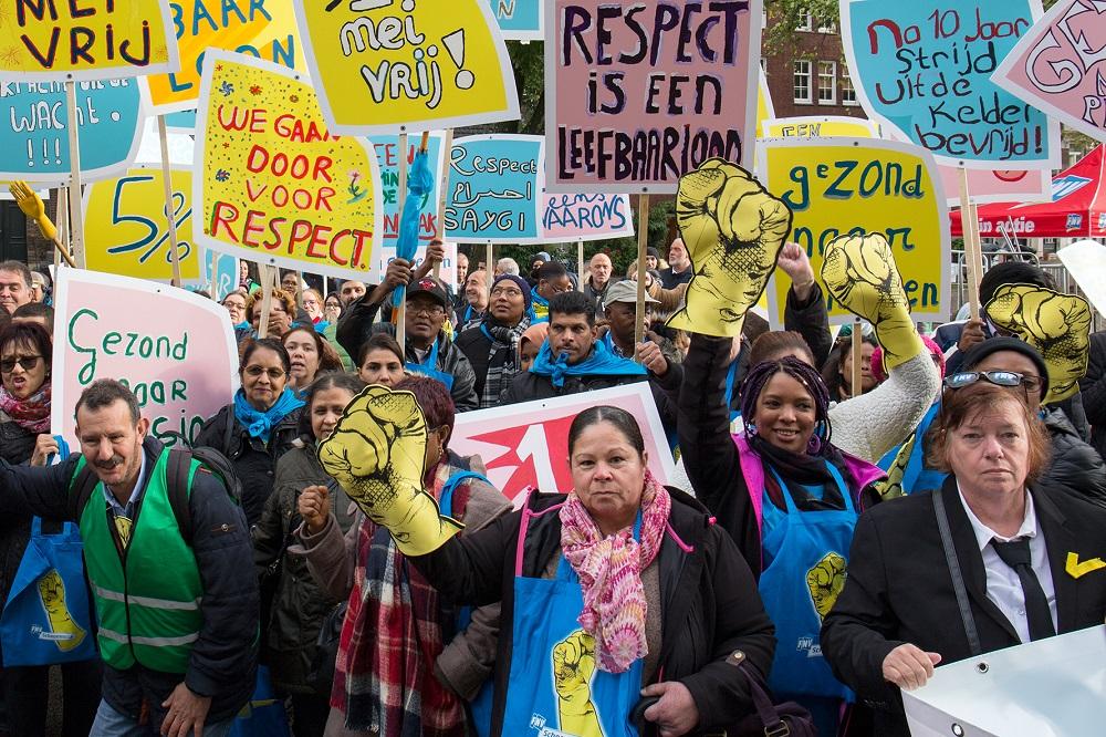 Schoonmaak cao: FNV stelt dat afspraken nageleefd moeten worden